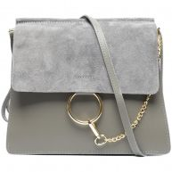 LUXE CHAIN BAG GREY
