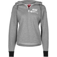 Nike W Hoodies hoodie grijs flecked grijs flecked