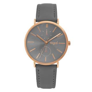 horloge met een grijze band