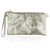 Metallic Party Clutch - Gold