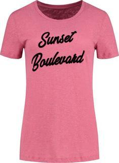 T-shirt Sunset Roze