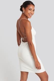 Open Back Jersey Dress