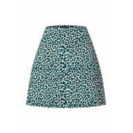 60s Olivia Catnip Skirt in Putty Ecru
