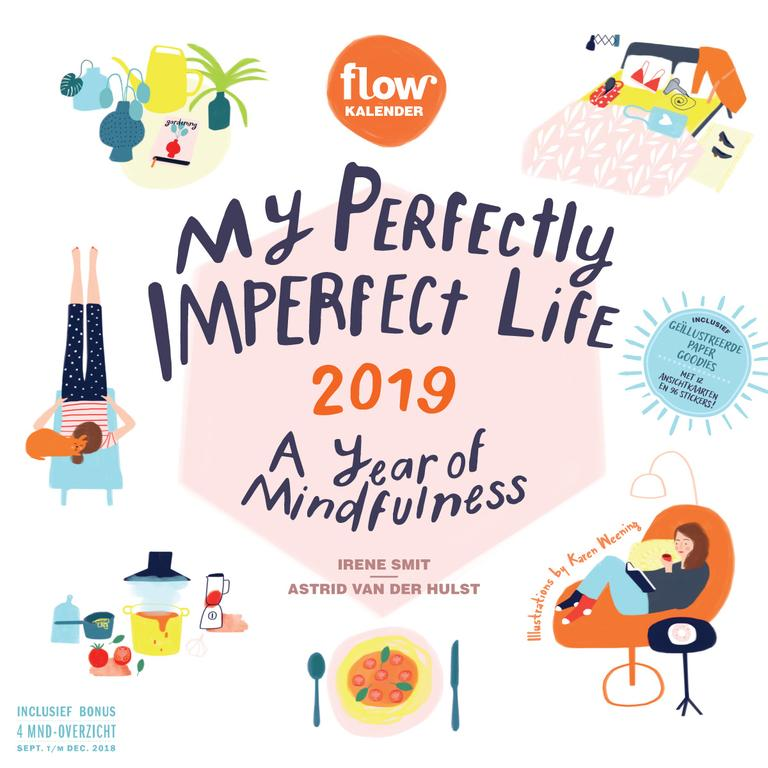 My Perfectly Imperfect Life kalender 2019