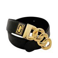 Double j plaque belt