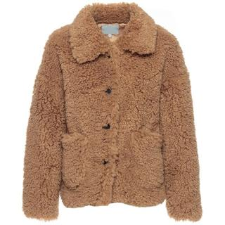 FAB TEDDY COAT CAMEL