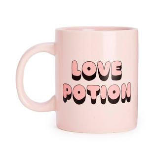 Koffiemok. Love potion. Roze.