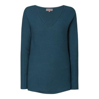 Pullover met ribstructuur