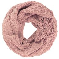 Chenille Scarf - Light Pink