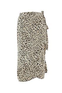wikkelrok met luipaardprint