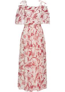 Dames jurk halve mouw in wit