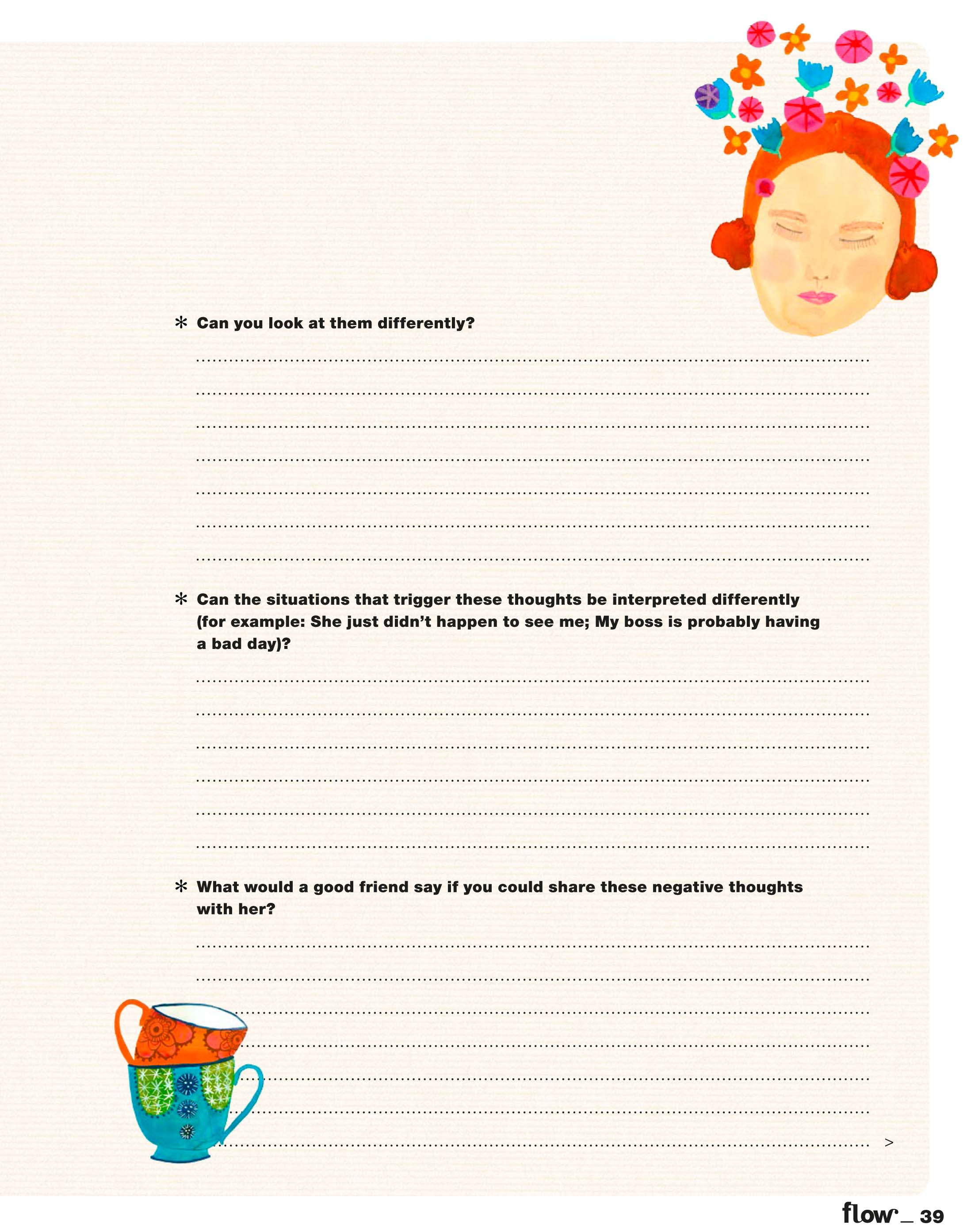 flow mindfulness workbook