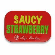 W7 Fruity Lip Balm - Saucy Strawberry