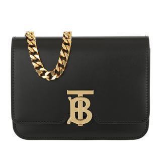 Tasche - TB Chain Belt Bag Leather Black in zwart voor dames