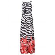 maxi-jurk in rood - BODYFLIRT