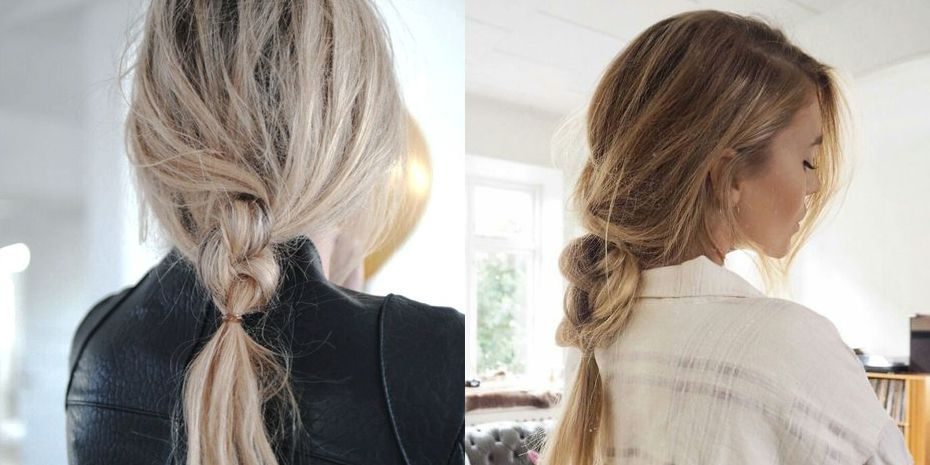 herfstkapsel messy braid