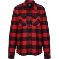 Dickies Sacramento W lange mouwen shirt rood zwart geruit