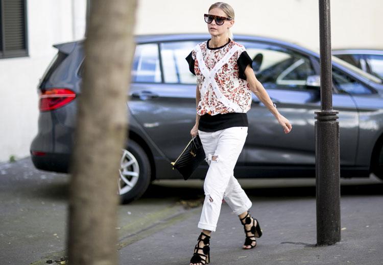 Zo chic kan een witte jeans zijn