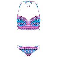 Longline Bikini - Blue
