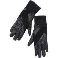 Maison Scotch Leren gewatteerde handschoenen