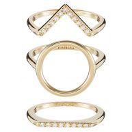 Kenzo SAND Ring goldcoloured