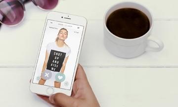 Swipe & Shop: Tinder voor fashion