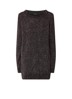 Rekon longline pullover met lurex