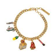 Toast my Heart charm bracelet