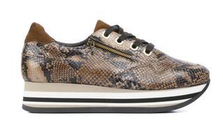 Sneakers Dames (Cognac)