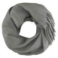 Oversized Knitted Scarf - Dark Grey