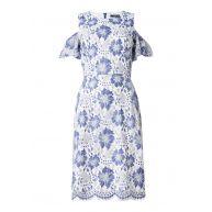 French Connection Antonia cold shoulder jurk van gebloemd kant