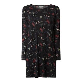 Mini-jurk met bloemenmotief
