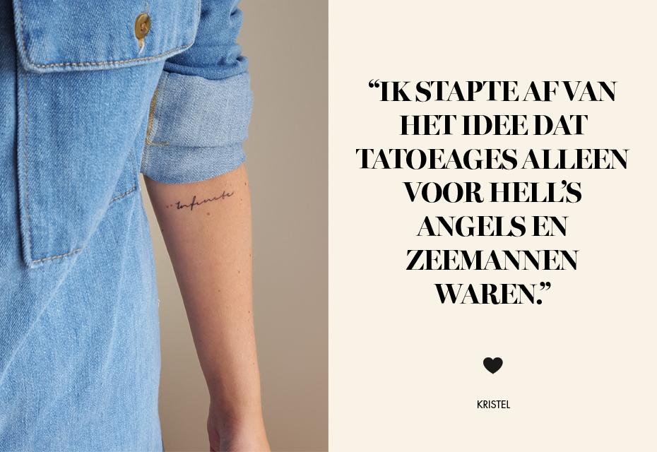 Geen Hells Angel Wél Een Tatoeage