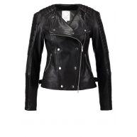 ENSO ART NEW YORK Leren jas black