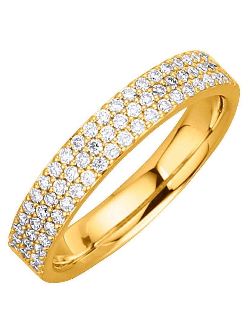 Diemer Anello Di Diamanti Signore Con Diamanti Bianchi g3nwWe
