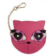 Furla Portemonnees Charme Small Coin Case Cat Zwart