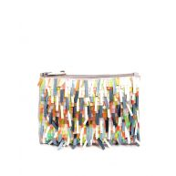 ASOS Sequin Tassle Zip Top Clutch Bag