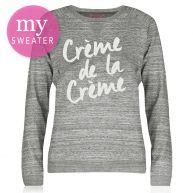 City Sweater - Creme De La Creme