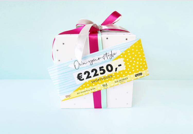 Doe de stijltest en maak kans op €2250 shoptegoed
