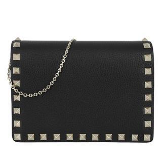 Cross Body Bags - Rockstud Crossbody Bag Nero in zwart voor dames