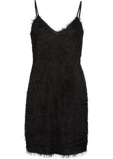 d268109fbdc411 Dames jurk zonder mouwen in zwart