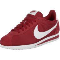 Nike Classic Cortez Nylon schoenen rood