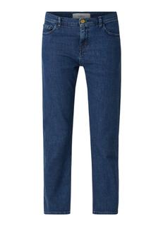 Nils mid rise cropped straight fit jeans