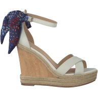 Witte Tommy Hilfiger Espadrilles BEATRICE 9C