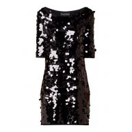 Phase Eight Belda jurk van jersey met pailletten