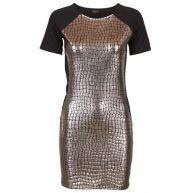 VILA Vicroco Dress Black / Silver