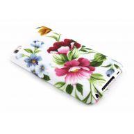Bloemen design TPU siliconen hoesje voor de iPod Touch 4g