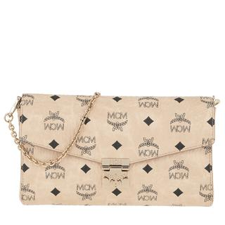 Tasche - Millie Visetos Crossbody Medium Beige in beige voor dames - Gr. Medium
