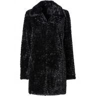 Dames jas lange mouw in zwart - BODYFLIRT