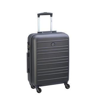Carlit koffer 55 cm brushed silver